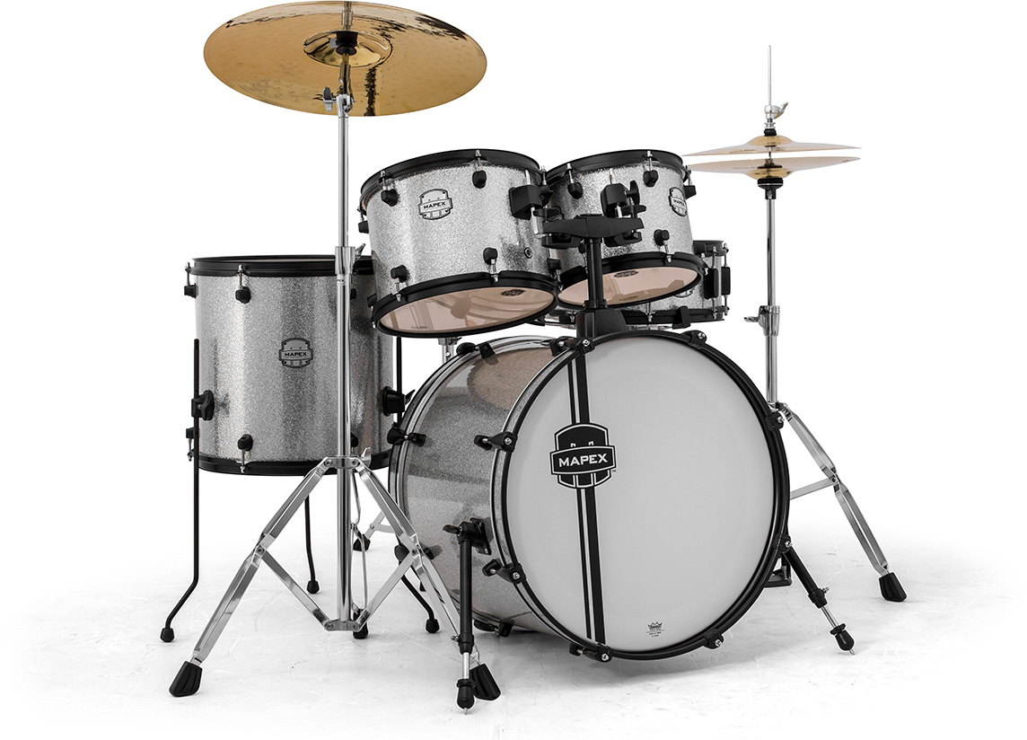 Mapex Drum Voyager Crystal Sparkle 5 Pcs Drumminded